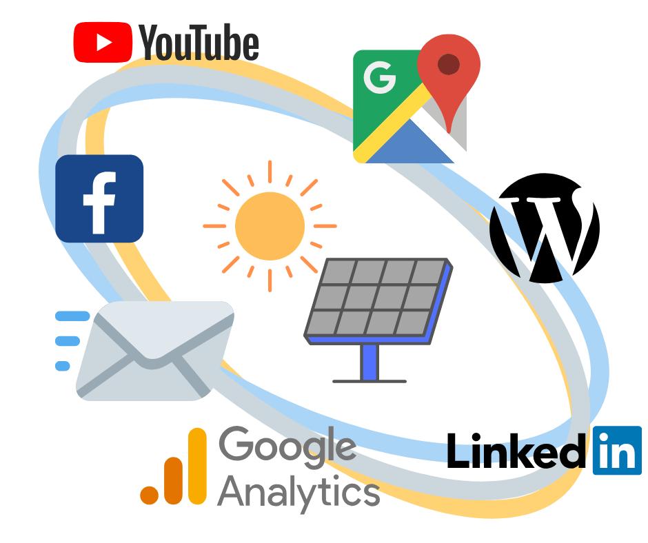 useful digital marketing platforms for solar companies